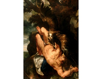 VRU73 Peter Paul Rubens - Přivázaný Prometheus