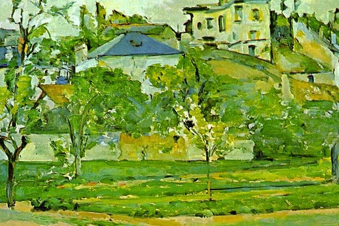 R10-126 Paul Cézanne - Sa v Pontoise