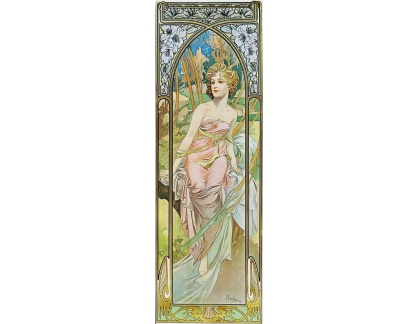 VAM141 Alfons Mucha - Morning Awakening