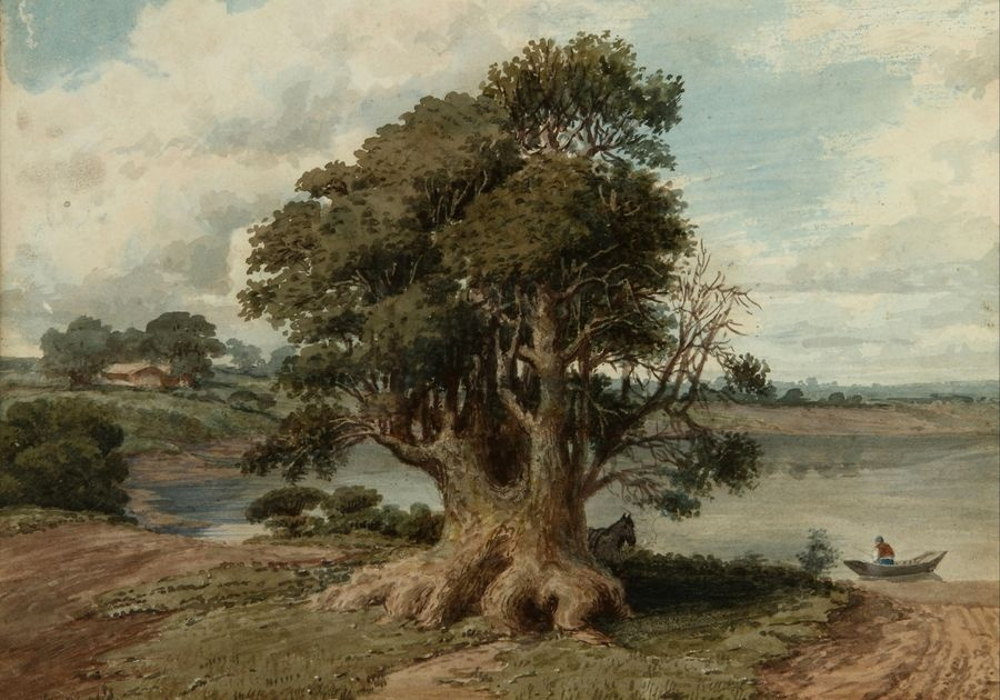 Slavné obrazy XIV-43 Prilidiano Pueyrredon - Krajina