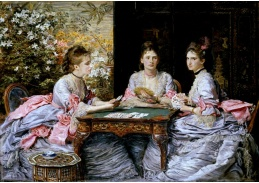 VANG10 John Everett Millais - Srdce jsou trumfy