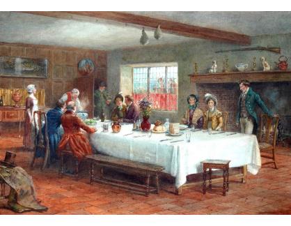 VANG306 George Goodwin Kilburne - V zájezdním hostinci