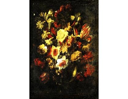 Krásné obrazy II-264 Juan de Arellano - Zátiší s květinami