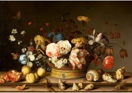 A-1314 Balthasar van der Ast - Zátiší s košíkem květin