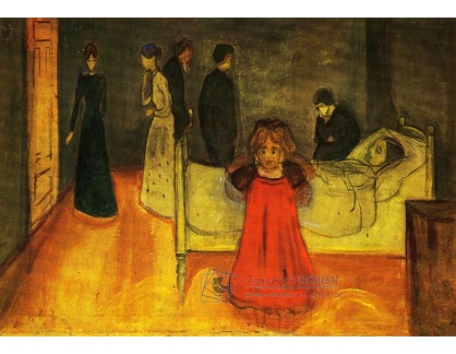 VEM13-123 Edvard Munch - Mrtvá matka a dítě