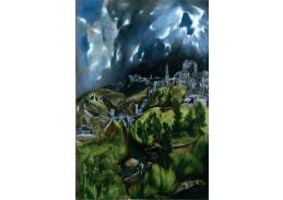 VSO 292 El Greco - Pohled na Toledo