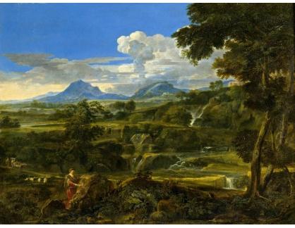KO III-208 Jean-Francois Millet - Krajina s pastevci