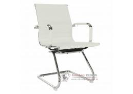AZURE 2 NEW 2 jednací židle, chrom / ekokůže bílá