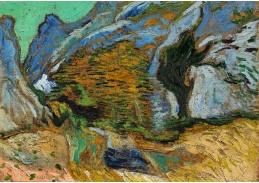 A-14 Vincent van Gogh - Rokle s malým potokem