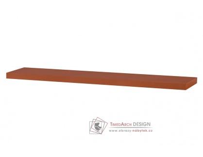 P-002 TR, nástěnná polička 120cm, třešeň