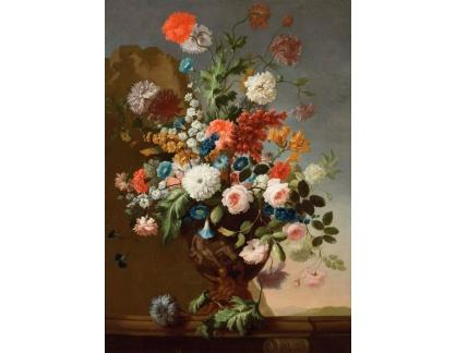 Slavné obrazy XVII-151 Franz Werner von Tamm - Zátiší s květinami