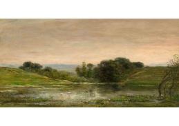 D-6559 Charles Francois Daubigny - Samota u rybníka Gylieu