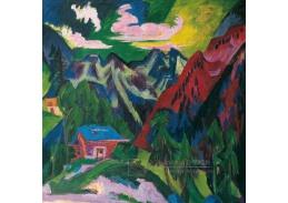 D-8292 Ernst Ludwig Kirchner - Klosterské hory