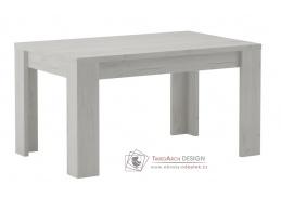 Jídelní stůl rozkládací 160x90 cm INDIANAPOLIS jasan bílý