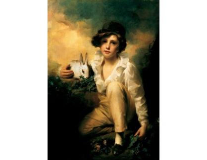 VANG130 Henry Raeburn - Chlapec a králik