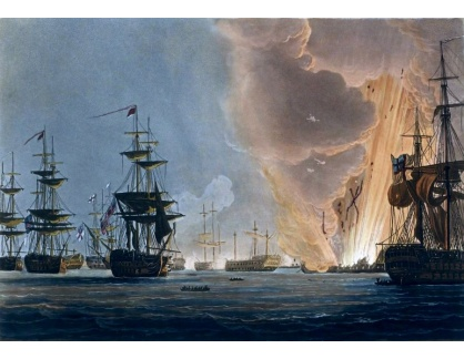 VANG182 Thomas Whitcombe - Bitva na Nilu