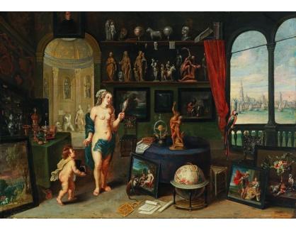 Slavné obrazy III-DDSO-602 Frans Wouters - Alegorie zraku