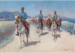 DDSO-1502 André Chaumiere - Kavalerie v Alžírsku