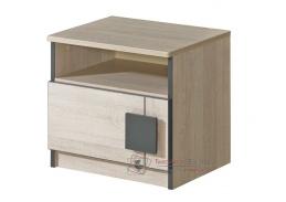 GIMMI G12, noční stolek, dub santana
