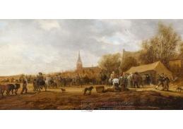 D-6190 Salomon van Ruysdael - Koňský trh