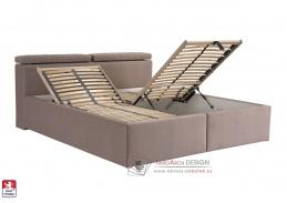 ARDEA, postel 180x200cm, bez matrací