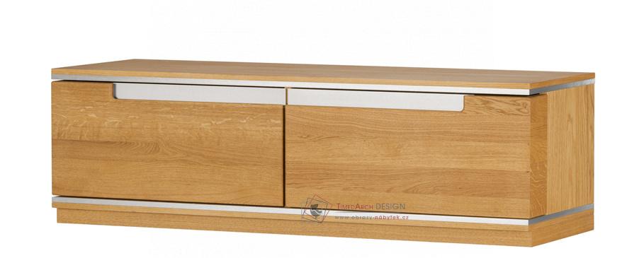 Televizní stolek TORINO 24 zlatý dub