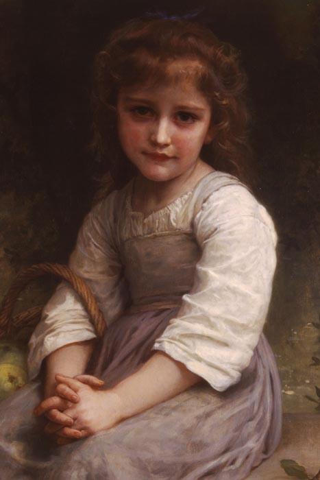 R15-107 Adolph William Bouguereau - Jablka