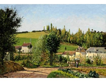 VCP-451 Camille Pissarro - Osada v Pontoise