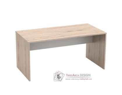 RIOMA 16, psací stůl, dub san remo / bílá