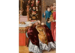 D-6084 Lucas Cranach - Mše svatého Řehoře