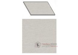 Kuchyňská pracovní deska 220 cm aluminium mat