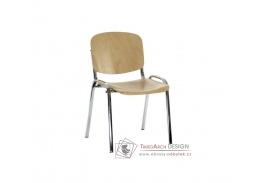 IMPERIA, konferenční židle dřevěná, výběr provedení