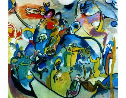 Obraz Vasilij Kandinskij VVK 96