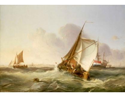 VANG206 George Chambers - Holandská loď v čerstvém větru