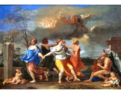 VF246 Nicolas Poussin - Tanec na hudbu času