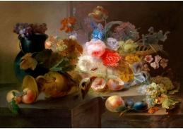 Krásné obrazy VI-90 Neznámý autor - Zátiší s květinami
