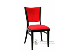 ALBERT 313361, jídelní židle, bukový masiv / koženka