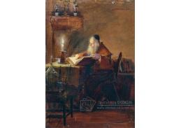 D-7725 Adolf Pirsch - Poustevník při čtení
