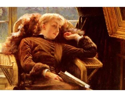 R16-110 James Tissot - Kathleen Newton v křesle