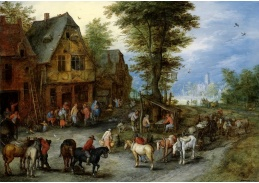BRG-102 Jan Brueghel - Vesnická krajina