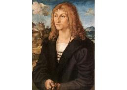 VlCR-06 Lucas Cranach - Portrét mladého muže
