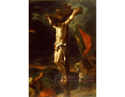 VEF 38 Eugene Ferdinand Victor Delacroix - Kristus na kříži
