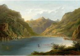 VU104 Hermann Herzog - Jezero Lucerne s výhledem na Tellkapelle