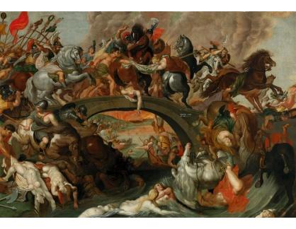 Slavné obrazy X DDSO-1279 Peter Paul Rubens - Bitva Amazonek
