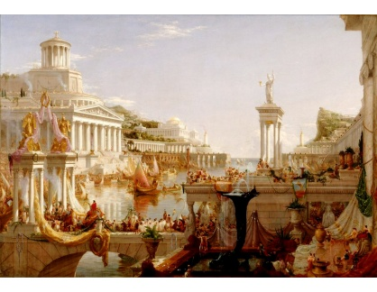 KO VI-384 Thomas Cole - Vrchol římského impéria