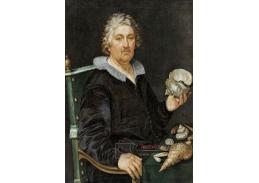 DDSO-2733 Hendrick Goltzius - Portrét sběratele Jana Govertsen van der Aer