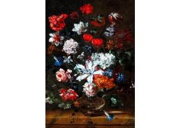 D-9212 Pieter Casteels - Květiny ve skleněné váze