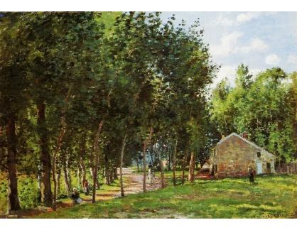 VCP-251 Camille Pissarro - Dům v lese