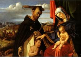 VLL 10 Lorenzo Lotto - Madonna s dítětem a svatým Petrem