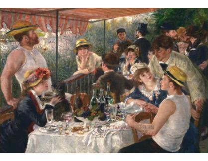 R14-135 Pierre-Auguste Renoir - Snídaně veslařů